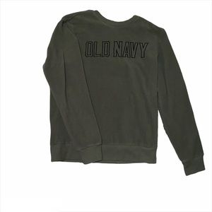 Old Navy Spellout Sweater PRICE FIRM